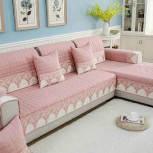 Дивандек арт ДК6 цвет: Ван Белой-Розовый