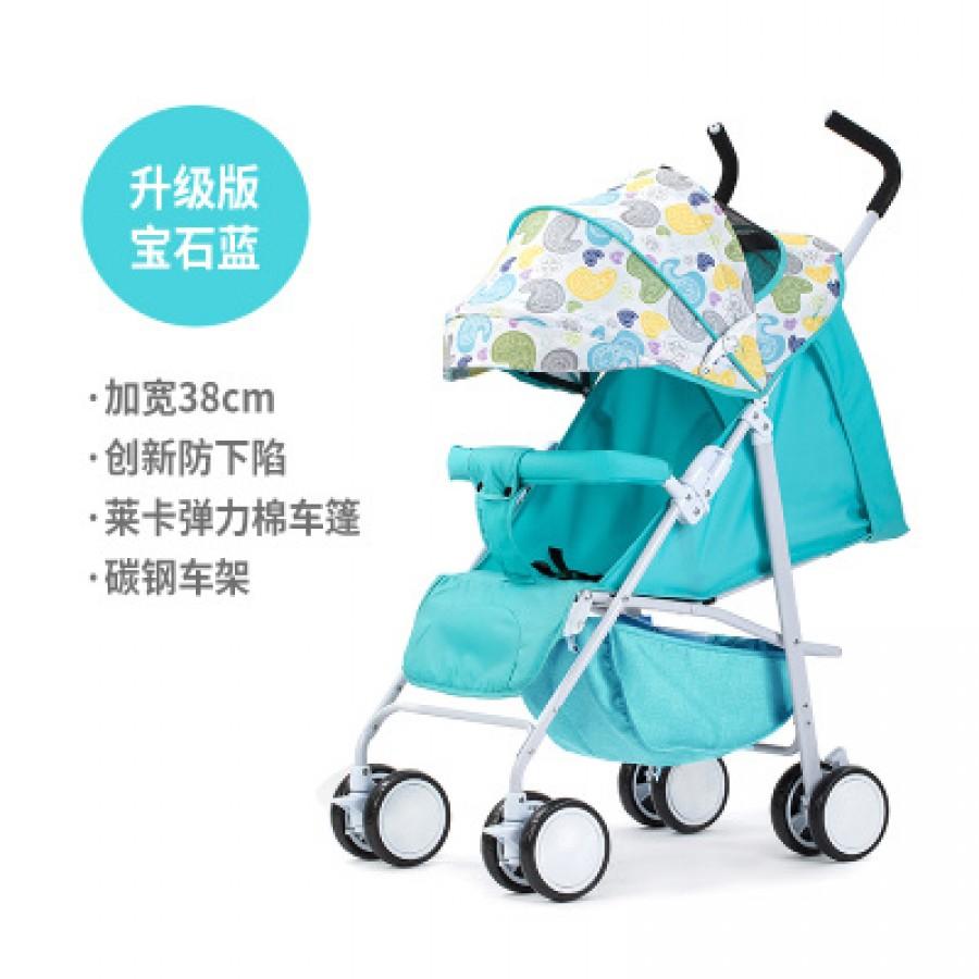 Детская коляска Beiou арт.14,цвет: Sapphire Blue