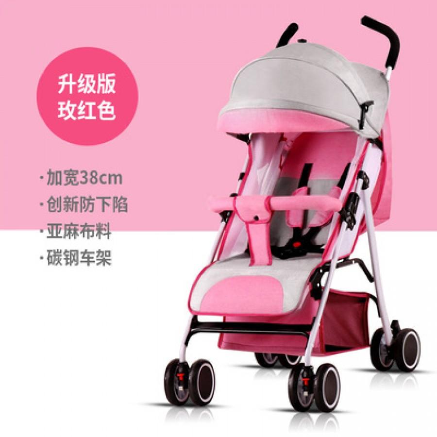Детская коляска Beiou арт.14,цвет: Rose Red