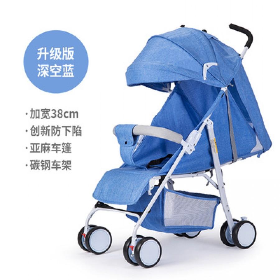 Детская коляска Beiou арт.14,цвет: Deep Space Blue