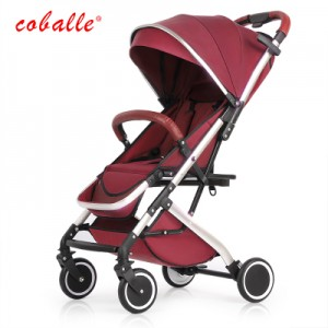 Детская коляска Coballe арт.8, цвет: Коралловый красный