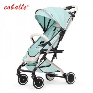 Детская коляска Coballe арт.8, цвет: Мятный зеленый