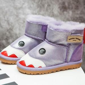 Сапоги детские арт.ДС60,цвет: Перламутровый Фиолетовый