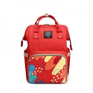 Рюкзак для мамы арт.Р366, цвет: Красная печать