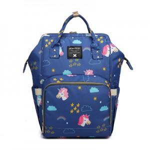 Рюкзак для мамы арт.Р366, цвет: Единорог Синий