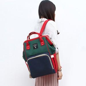 Рюкзак для мамы арт.Р367,цвет: Красный.зеленый и синий