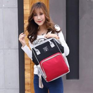 Рюкзак для мамы арт.Р367,цвет: Красный,черный и серый