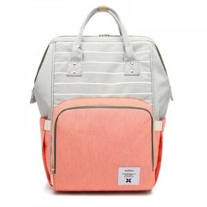 Рюкзак для мамы арт.Р367,цвет: Полосатый Розовый
