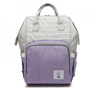Рюкзак для мамы арт.Р367,цвет: Полосатый Фиолетовый
