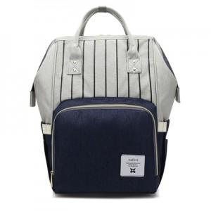 Рюкзак для мамы арт.Р367,цвет: Полосатый Синий