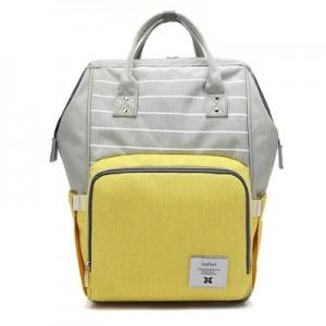 Рюкзак для мамы арт.Р367,цвет: Полосатый Желтый
