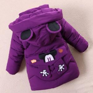 Куртка детская арт.КД027,цвет: Фиолетовый
