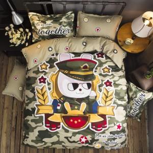 Хлопковый комплект арт.ПБ3,цвет: Army Green защитный дом