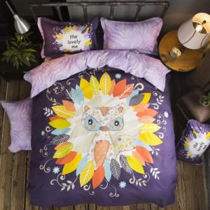 Хлопковый комплект арт.ПБ3,цвет: Фуксия Симфония Фиолетовый Фокс