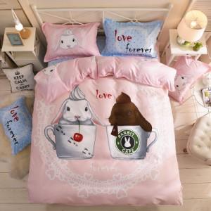 Хлопковый комплект арт.ПБ3,цвет: Розовый сладкий Кофе
