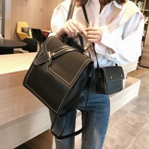 Рюкзак набор из 2 позиций арт.Р378,цвет: Черный