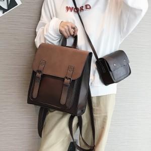 Рюкзак набор из 2 предметов арт.Р379,цвет: Коричневый