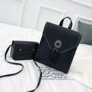 Рюкзак набор из 2 предметов арт.Р380,цвет: Черный