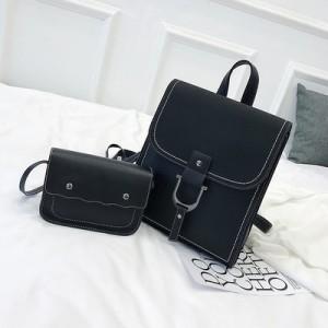 Рюкзак набор из 2 предметов арт.Р389,цвет: Черный