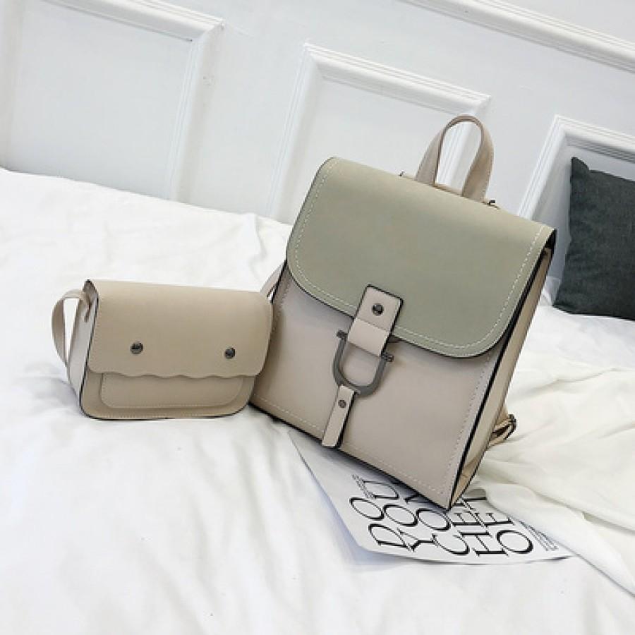 Рюкзак набор из 2 предметов арт.Р389,цвет: Белый Рис