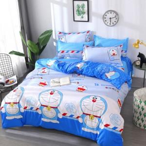 Постельный комплект арт.ПБ4,цвет: Blue Doraemon