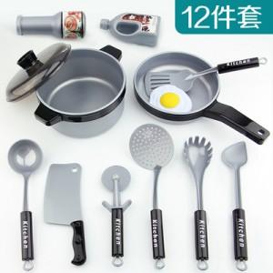 Набор детских  кухонных принадлежности арт.ИК100 из 12 единиц