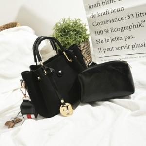 Набор сумок из 2 предметов арт.А568,цвет: Черный