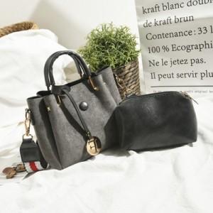 Набор сумок из 2 предметов арт.А568,цвет: Серый