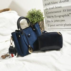 Набор сумок из 2 предметов арт.А568,цвет: Синий