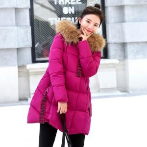 Женская куртка арт.КЖ162,цвет: Розовый Красный