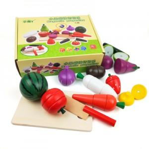 Овощи на магнитах в коробке  арт.М17