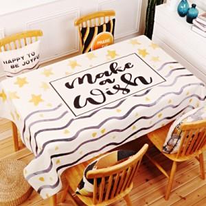 Скатерть хлопчатобумажная арт.СК01,цвет: Серый межзвездный