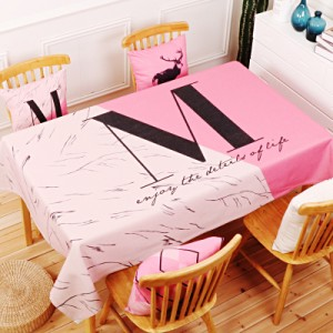 Скатерть хлопчатобумажная арт.СК01,цвет: Розовое красное восхищение