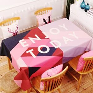 Скатерть хлопчатобумажная арт.СК01,цвет: Розовый красивый
