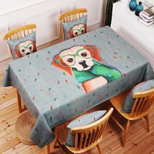 Скатерть хлопчатобумажная арт.СК01,цвет: Темно-зеленая живопись