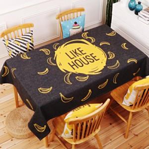 Скатерть хлопчатобумажная арт.СК01,цвет: Бананы