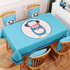Скатерть хлопчатобумажная арт.СК01,цвет: Пингвин