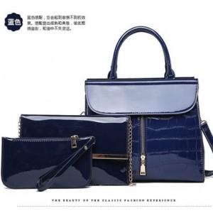 Набор сумок из 3 предметов арт.А569,цвет: Синий