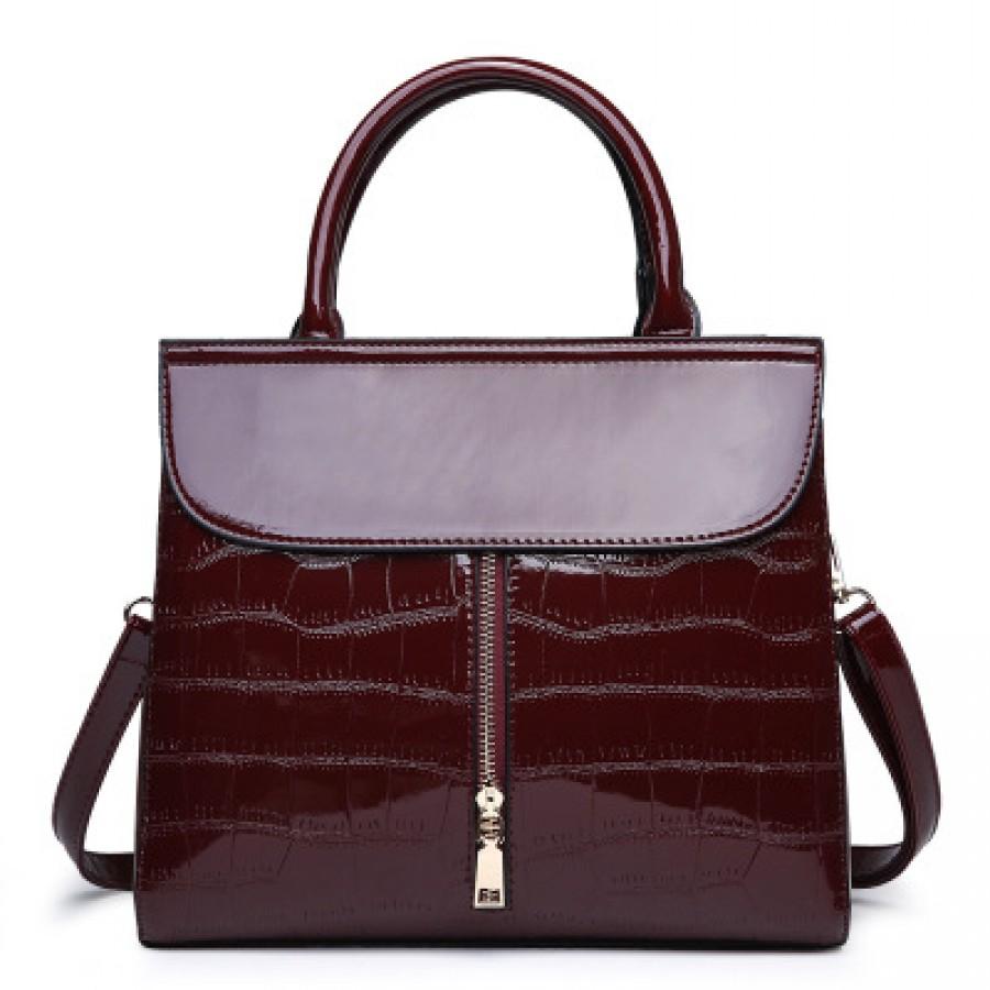 4dcc57b5e8ab Женская сумка арт.Б612,цвет: Вино красное