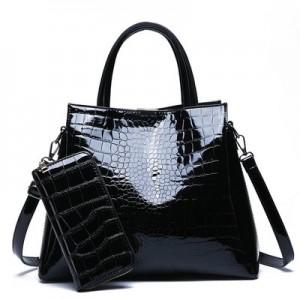 Набор сумок из 2 предметов арт.А570,цвет:Черный