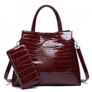 Набор сумок из 2 предметов арт.А570,цвет: Вино Красное