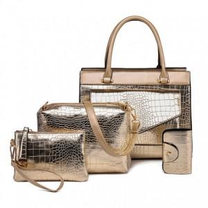 Набор сумок из 4 предметов арт.А571,цвет: Золото