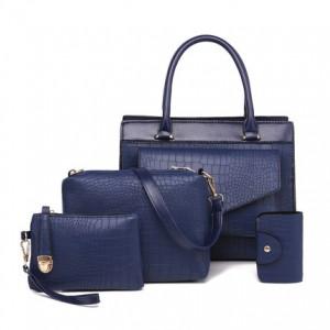 Набор сумок из 4 предметов арт.А571,цвет: Синий