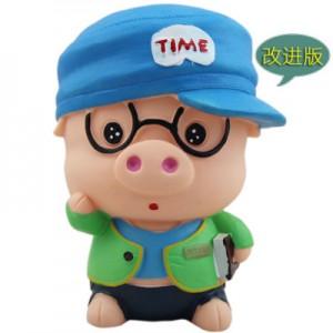 Копилка Piggy Bank арт.ОГ2019,цвет: Поросенок в очках