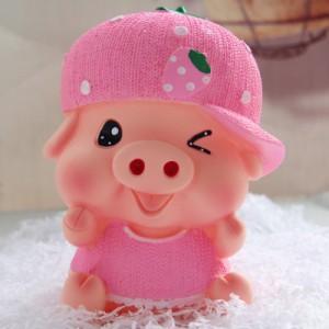 Копилка Piggy Bank арт.ОГ2019,цвет: Розовая свинка