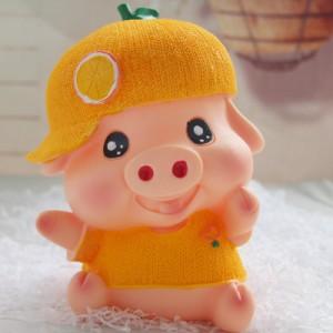 Копилка Piggy Bank арт.ОГ2019,цвет: Желтая свинка