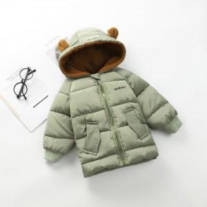 Куртка детская арт.КД047,цвет: Бин Зеленый