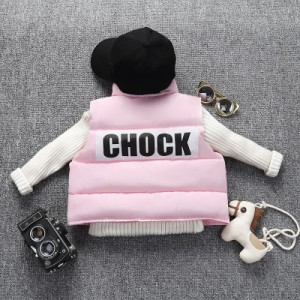 Детский жилет арт.КД048,цвет: Розовый
