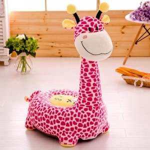 Детское кресло арт.ДМК01,цвет:Розовый Жираф