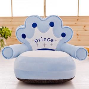 Детское кресло арт.ДМК01,цвет:Голубая Корона